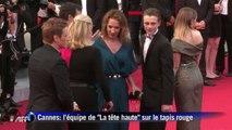 Première montée des marches au 68e festival de Cannes