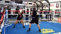 Palm Beach Boxing. James Arias II Sparring Boxing Palm Beach Boxing. Alexandra Joy Arias