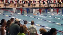 One Arm Swimmer wins heat in 25m Fly at 2010 Nashville City Swim Meet