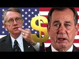 US government shutdown: Debt ceiling lifted as Republicans cave in last-minute deal