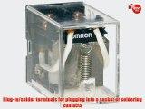 Omron LY2-AC110/120 General Purpose Relay Standard Type Plug-In/Solder Terminal Standard