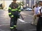 1st plane crashing into world trade center