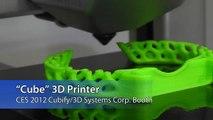 CES 2012: Cubed 3D Home Printer