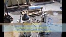 pulitura rulli di accoppiaggio tessuti con bicarbonato di sodio