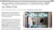 Argentina Inflation, Devaluation, & Default Are Future of U.S. Economy!