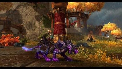 Monture Sabrerune Mystique sur World of Warcraft