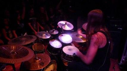 Carach Angren - Namtar drums - Bitte Tötet Mich! live in Anaheim U-S-