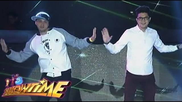 Vice Ganda dances the new Billy-Vhong Dance steps