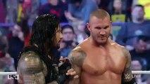 Randy Orton & Roman Reigns vs Seth Rollins & Kane - WWE Raw April 27 2015