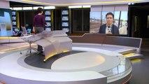 Repórter da Globo leva bronca da polícia americana ao vivo