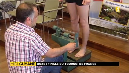 Boxe finale du tournoi de France