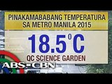 Metro Manila temperature drops to to 18.5