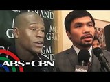 Pacquiao camp only waiting for Floyd's signature