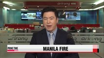 Death tolls rises from Manila factory fire