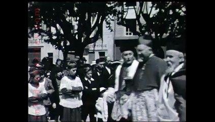 1937 Bénediction de la Garonne à la Réole
