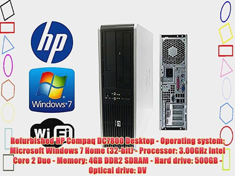 Hp Compaq 7800 Tower