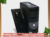 Dell 2.8 Ghz. Super Fast Optiplex Pro GX 1 Computer Gigantic 750GB Hard Drive 4GB RAM CDRW/DVD