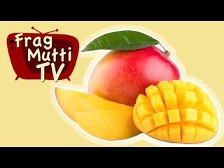 Mango richtig schneiden - Frag Mutti TV