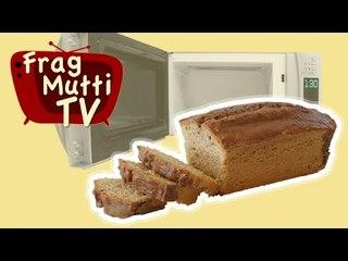 Nusskuchen aus der Mikrowelle in 5 Minuten - Frag Mutti TV