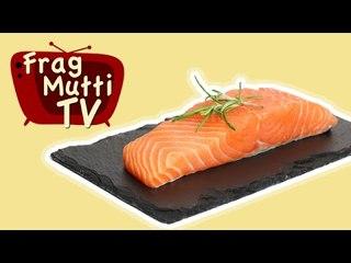 Fisch (Lachs) filetieren - Frag Mutti TV