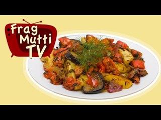 Ratatouille aus dem Backofen - Frag Mutti TV