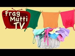 Wäsche aufhängen ohne Falten - Frag Mutti TV