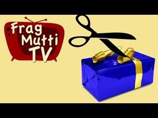 Geschenke richtig verpacken - Frag Mutti TV