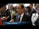 Hollande et Bayrou rendent hommage à Richard Descoings