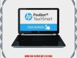 HP Pavilion 15-n220us 15.6-Inch Touchsmart Laptop (2.0 GHz AMD A6-5200 Processor 6GB DDR3L