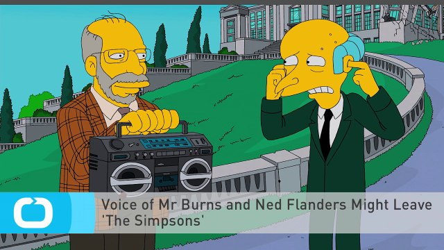 Voice of Mr Burns and Ned Flanders Might Leave 'The Simpsons'