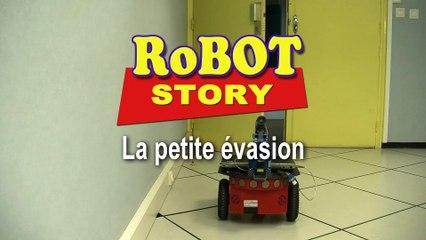 Robot Story : la petite évasion