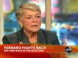 Geraldine Ferraro Defends Her Statements (Full Video)