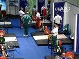 Pyrros Dimas Wins Weightlifting Gold At Third Consecutive Olympics - Sydney 2000 Olympics