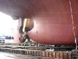 Aykin Shipyard Gemi inişi (Ship Launching)