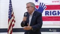 4 days, 4 answers from Jeb Bush on Iraq
