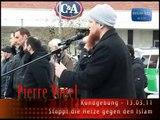 Junger Christ stört islamischen Vortrag von Pierre Vogel (Mönchengladbach 13.03.2011) TEIL 1