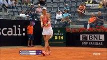 Maria Sharapova 2-0 Bojana Jovanovski: Thắng may