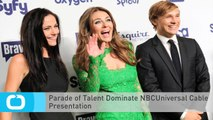 Parade of Talent Dominate NBCUniversal Cable Presentation