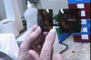 Making a custom clip-on for Silhouette rimless eyelass frame