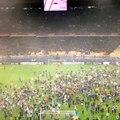 Dnipro pasó a la final de Europa League e hinchas invadieron la cancha