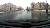 ★ Pedestrians Almost Hit By Cars - The Luckiest Ever Pedestrian Close Call ★