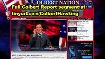 Stephen Colbert vs Stephen Hawking's Atheism?