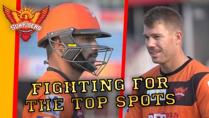Work Hard, Play Hard! SRH prepare for a MASSIVE game against RCB