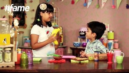 How to Make Chocolate Crackers | Kid's Kitchen | Karma And Vivaan
