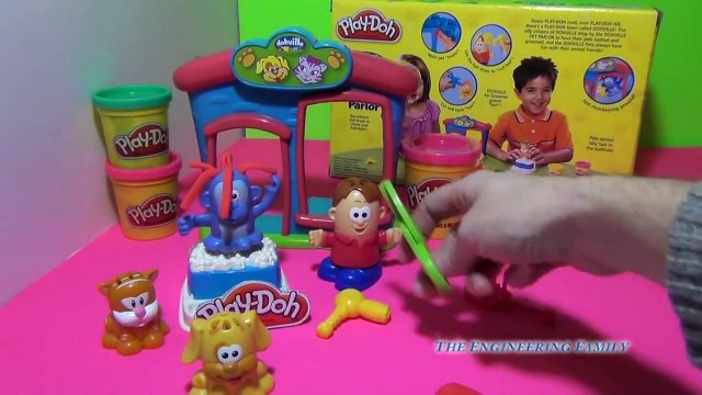 PLAY-DOH Fuzzy Pet Playset Play Doh Pets Be like Disney's Doc McStuffins and help your Pets