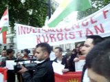 Speech by Raz Jabary in a demonstration against the Syrian regime