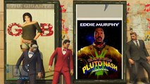 SS 4 VanossGaming GTA 5 Online Funny Moments   Imaginary Posters   Animation Glitch!