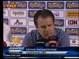 ΑΕΛ-ΑΕΚ 0-1 TRT Δηλώσεις προπονητών 2014-15 4η αγων. Πλέιοφ