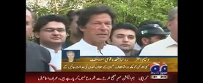 Geo News Headlines 6 April 2015, MQM Member Statement on Imran Khan Statement  - Faster - HD
