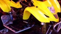 Suzuki LTZ 400 434 440 timing marks. How to set the timing on Suzuki LTZ